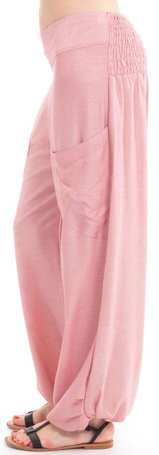 Pantalon pour Femme Fluide et Agréable Cédric Vieux Rose 282309