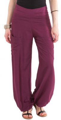 pantalon pour femme fluide et agreable cedric violet. Black Bedroom Furniture Sets. Home Design Ideas