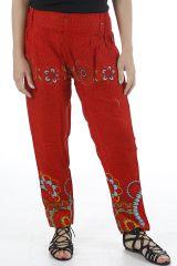 Pantalon pour femme fluide ethnique et pas cher Diego 310929