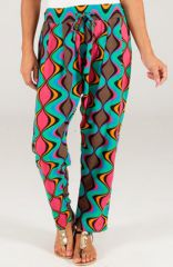 Pantalon pour Femme Imprimé et Coloré Selvin Vagues 283462