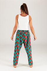 Pantalon pour Femme Imprimé et Coloré Selvin Vagues 283464