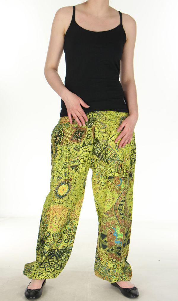 pantalon pour femme imprime et original romulad anis. Black Bedroom Furniture Sets. Home Design Ideas