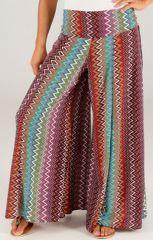 Pantalon pour Femme Imprimé et très Large Maravan Multi 283468