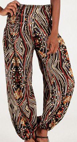 Pantalon pour femme large Ethnique et Agréable Roméo 276680