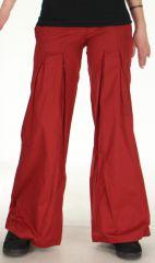 Pantalon pour Femme Original Ample ou Bouffant Tayao Rouge 278522