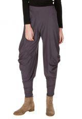 Pantalon pour femme Prune original et ample Binta 298414