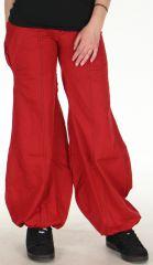 Pantalon pour Femme Rouge très Original et Bouffant Basile 278471