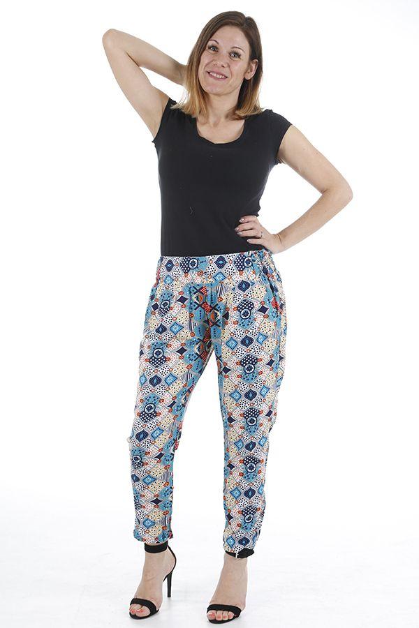 Pantalon pour femme très élégant et imprimé zen Zimba 310396