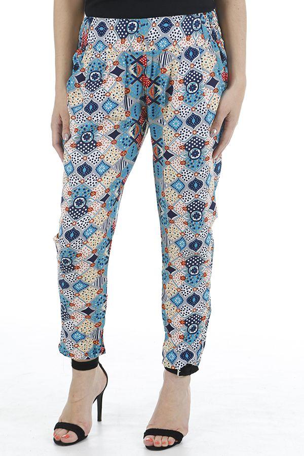 Pantalon pour femme très élégant et imprimé zen Zimba 310397