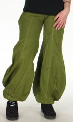 Pantalon pour Femme très Original et Bouffant Basile Kaki 278468