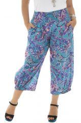 Pantalon pour femmes rondes avec coupe 3/4 et bouffante Panama 312982