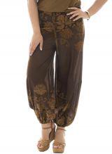 Pantalon pour femmes rondes coupe bouffante Nils 291904