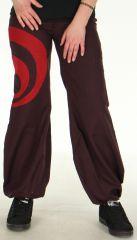 Pantalon Prune léger pour Femme Ethnique et Bouffant Omar 278459