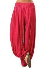 Pantalon Rose Foncé pour femme bouffant Ethnique et Coloré Gilian 282240