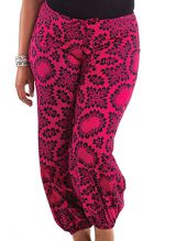 Pantalon Rose grande taille femme ethnique Gaston 283764