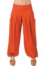 Pantalon Rouille pour Femme Yoga ou Détente 282255