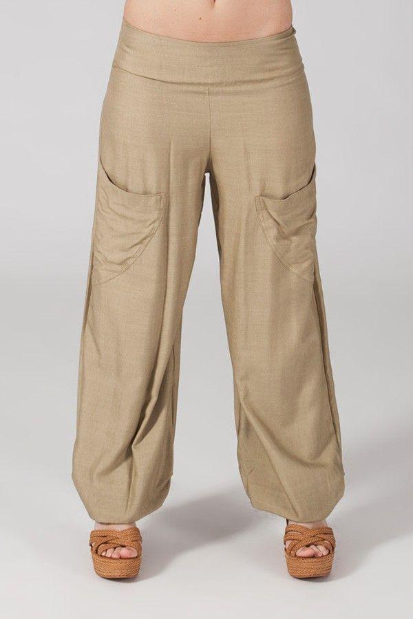 Pantalon sable pour femme fluide et agréable Cédric 318549
