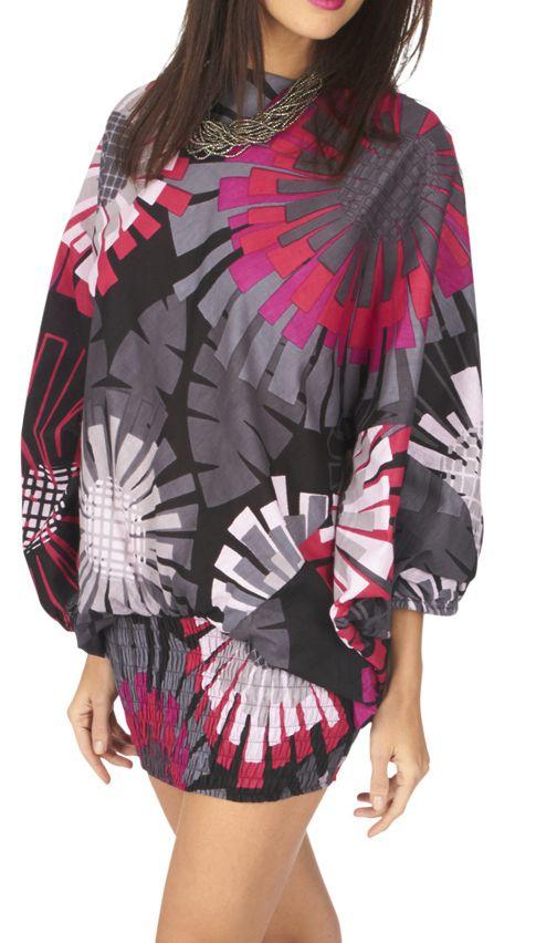 Pantalon sarouel 3en1 transformable original et coloré Kaline 317064