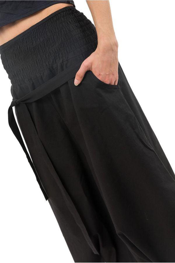 Pantalon sarouel femme pour un look effet jupe ethnique Fania 304719
