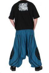 Pantalon sarouel homme soane bleu 260995