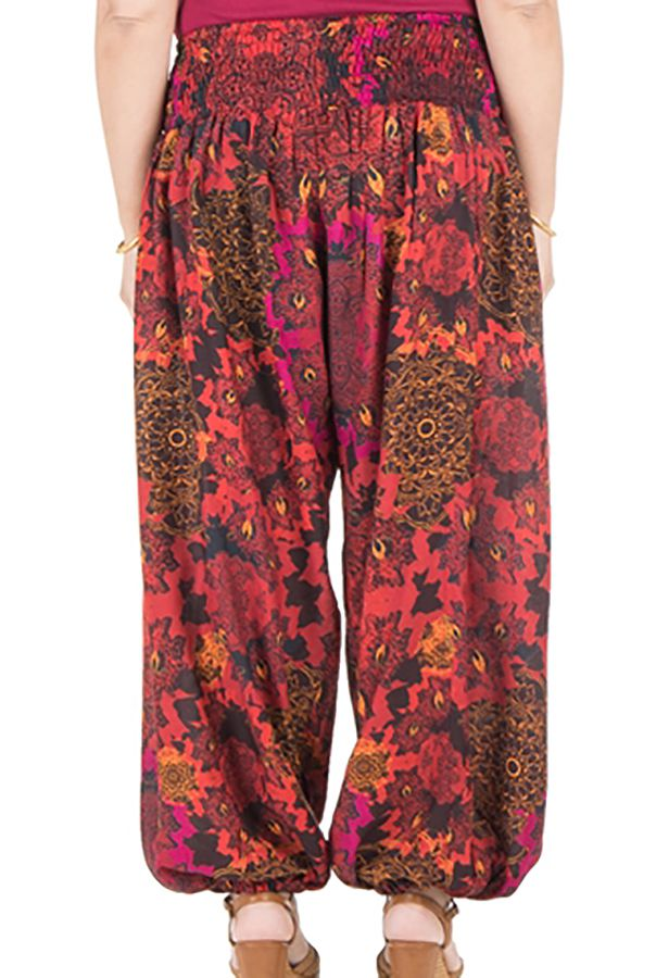Pantalon size plus idéal été avec coupe bouffante Galla 295123