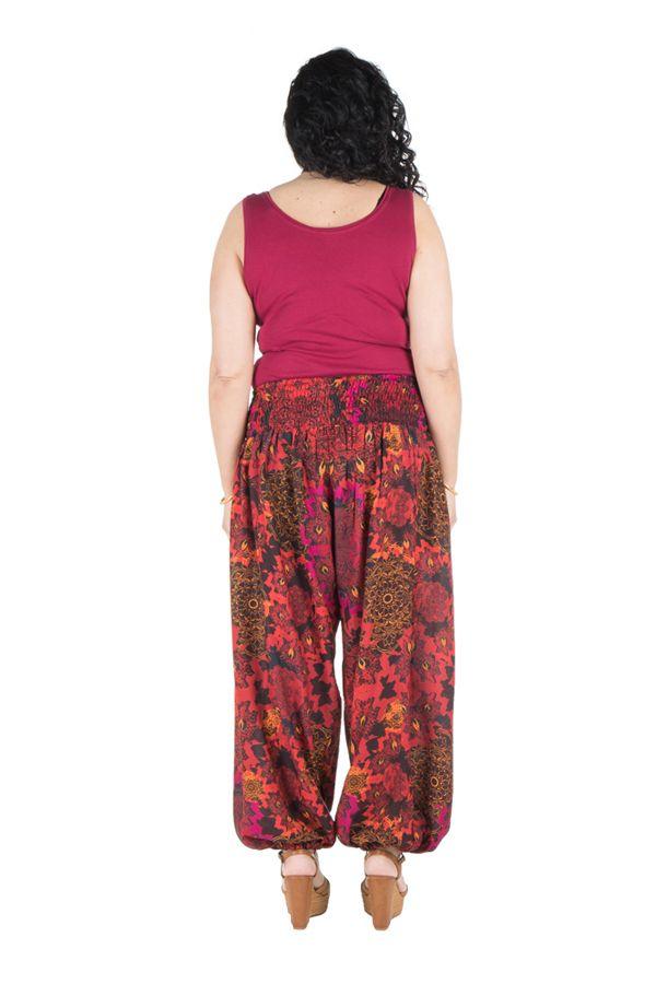 Pantalon size plus idéal été avec coupe bouffante Galla 295124