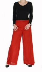 Pantalon thai portefeuille rouge 268943