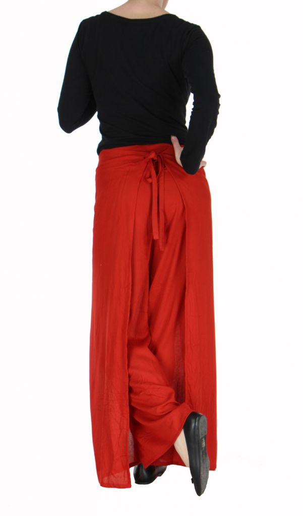 Pantalon thai portefeuille rouge 268944