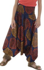 Pantalon transformable avec imprimés ethniques Zély 294161