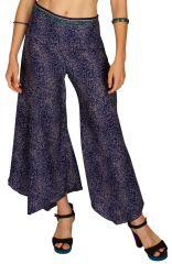 Pantalon très évasé à pattes d'éléphant pour femme Tessy 309723