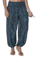 Pantalon Vert Bouffant et Fluide pour Femme Arul 283952