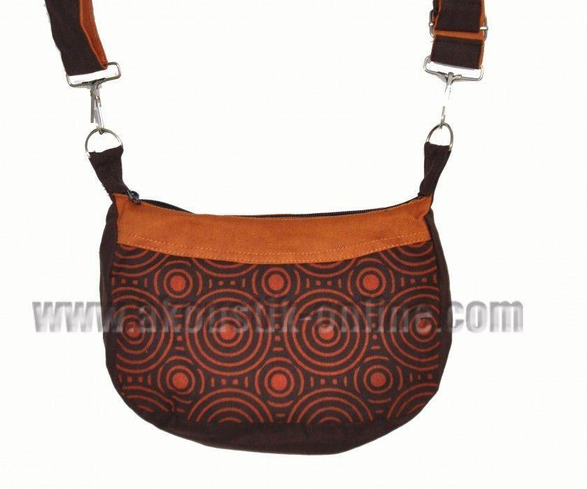 Petit sac kecil marron et orange 239891
