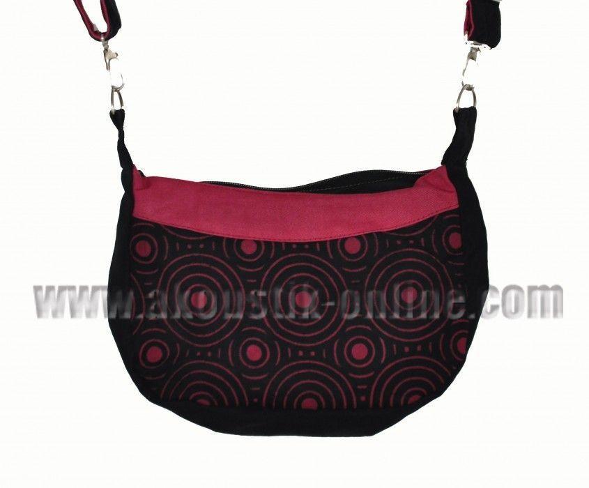 Petit sac kecil noir et bordeau 239897