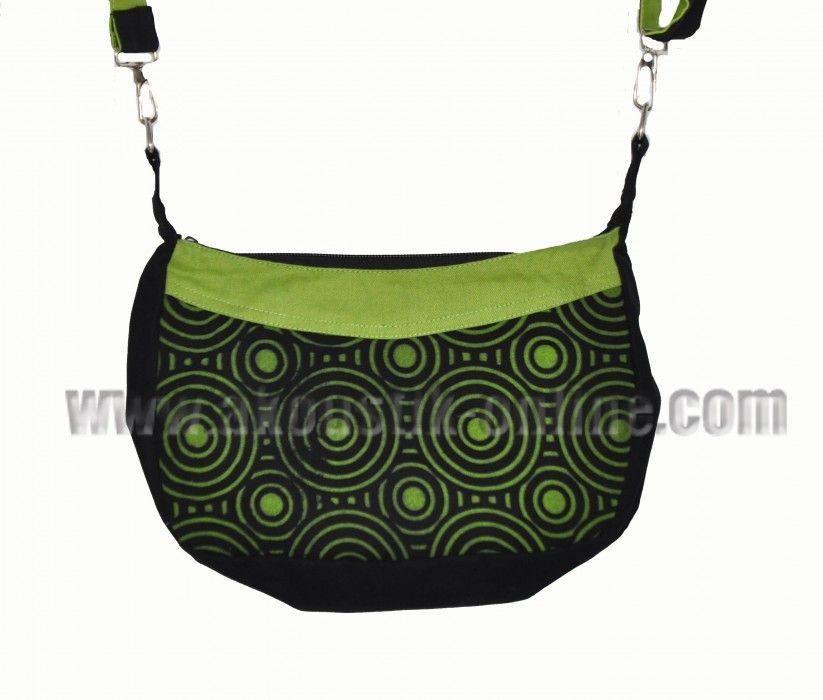 Petit sac kecil noir et vert 239895