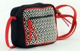 Petit sac Macha coloré tons noir à bandoulière Popy 271443