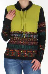 Pull Ethnique et Tendance Colorée pour Femme Tasmia Anis 278342