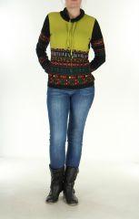 Pull Ethnique et Tendance Colorée pour Femme Tasmia Anis 278345
