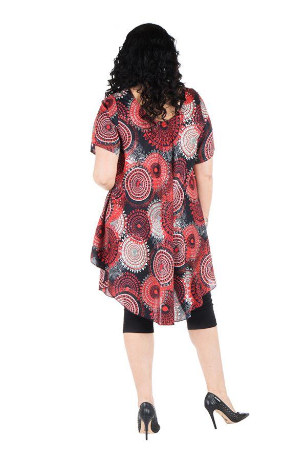 Robe  size plus look vintage avec ilmrpimés originaux Ezra 296383