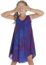 Robe à bretelles pour fillette Ethnique et Colorée Marie-Jeanne 295774