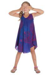 Robe à bretelles pour fillette Ethnique et Colorée Marie-Jeanne 295775