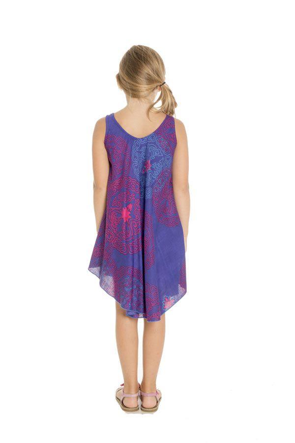 Robe à bretelles pour fillette Ethnique et Colorée Marie-Jeanne 295776