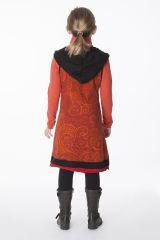 Robe à capuche originale et colorée pour enfant 287148