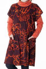 Robe à manches courtes avec deux poches pour fille 287353
