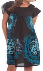 Robe à manches courtes pour Enfant Ethnique et Originale Libby Noire 279847