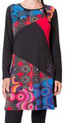 Robe à manches longues Ethnique et Colorée Helbe 275678