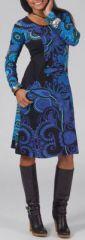 Robe à manches longues Ethnique et Colorée Laurena 274949