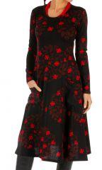 Robe à manches longues très colorée et ethnique Nyeri 312824