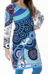 Robe à manches longues très colorée pour fille 287206