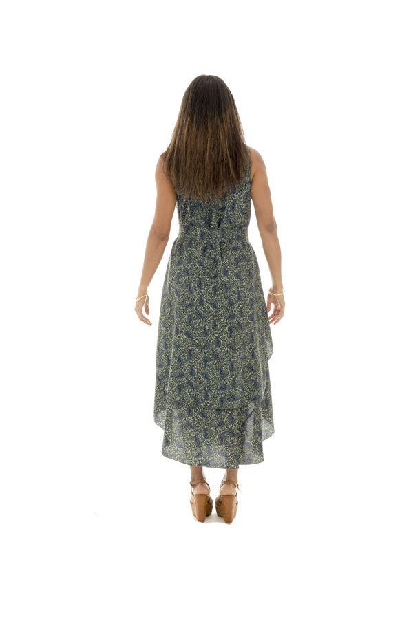 robe ample d'été a bretelles avec col rond et ceinture Kementari 289820