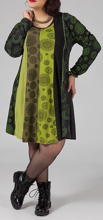 Robe ample d 39 hiver pour femme pulpeuse et ronde charlotte - Femme pulpeuse image ...